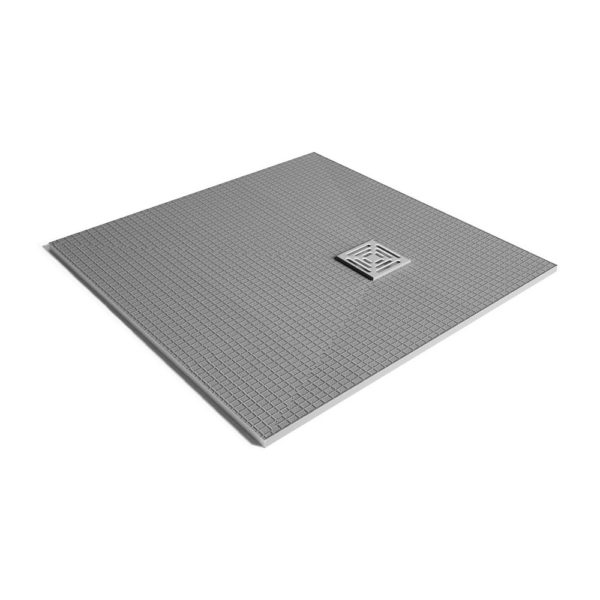 Dukkaboard Corner Drain Shower Tray