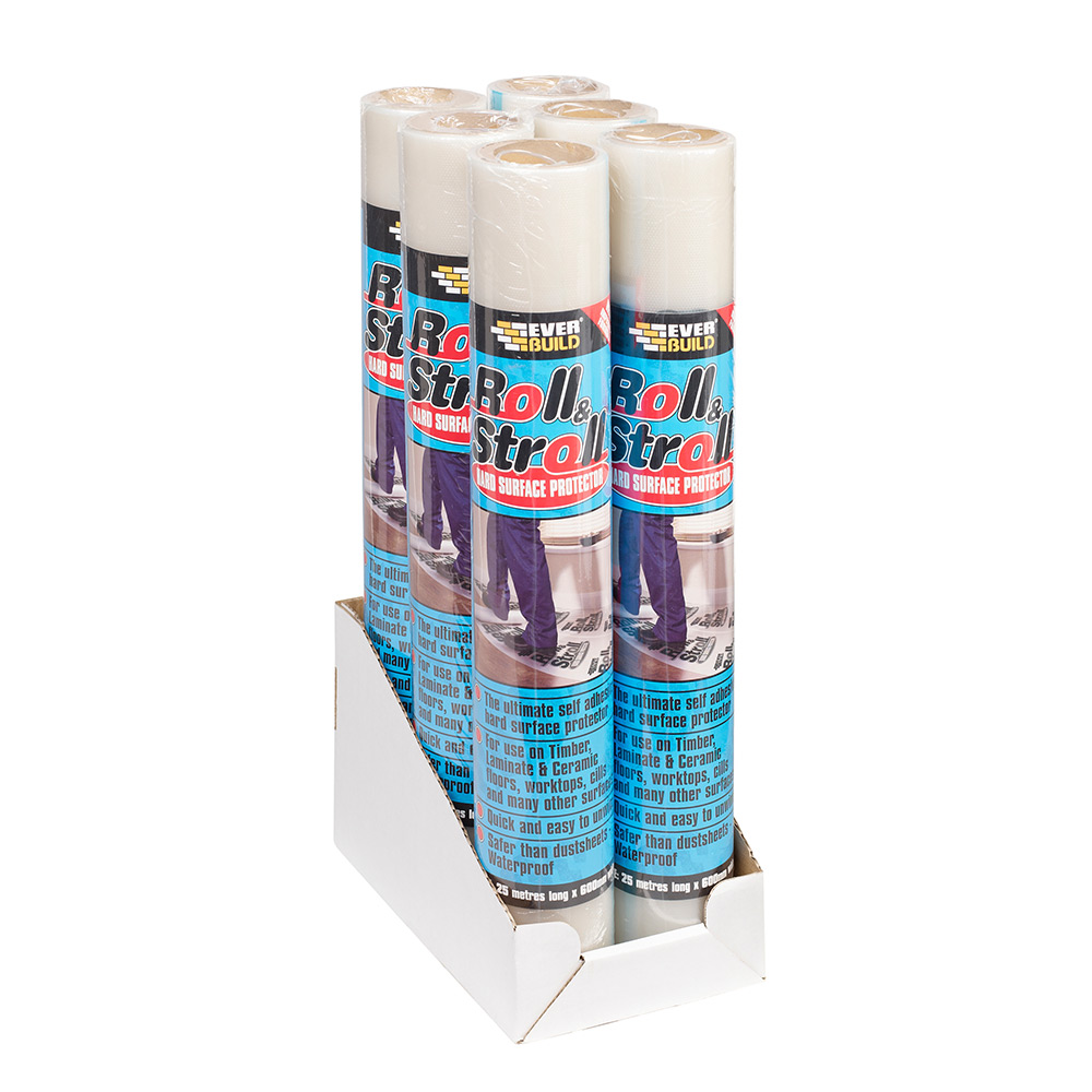 Everbuild Roll And Stroll Hard Surface Protector Tiling