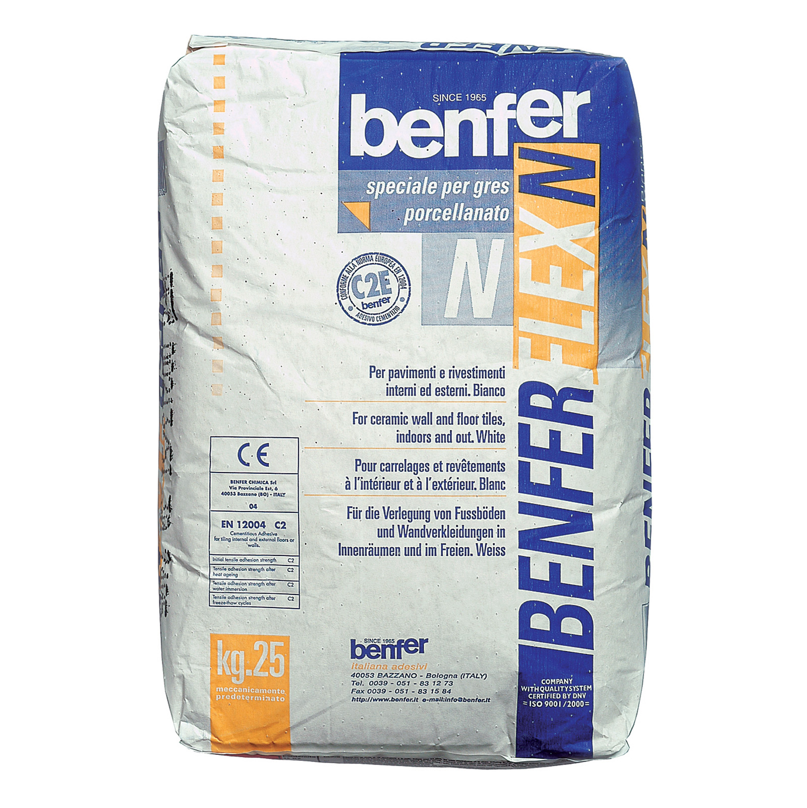 Benferflex N White Tile Adhesive Tiling Supplies Direct