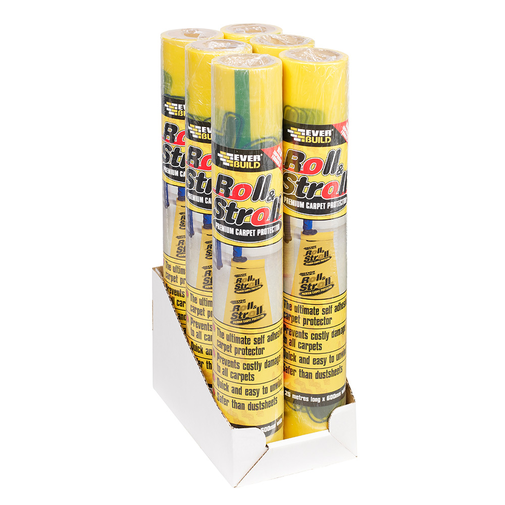 Everbuild Roll And Stroll Carpet Protector Tiling
