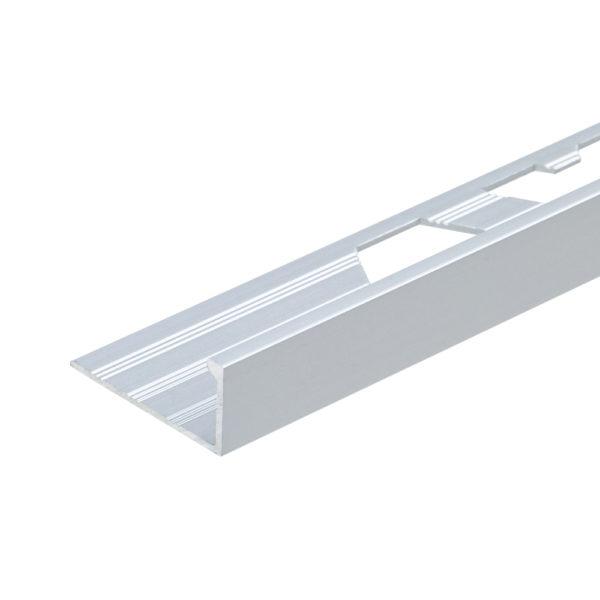 Matt Anodised Aluminium Straight Edge Tile Trim