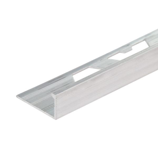 Aluminium Straight Edge Tile Trim