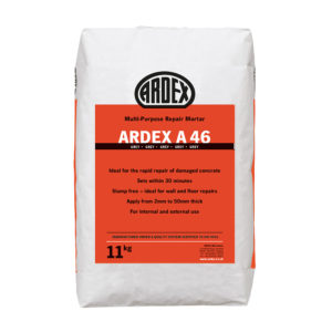 Ardex A 46 Rapid Repair Mortar