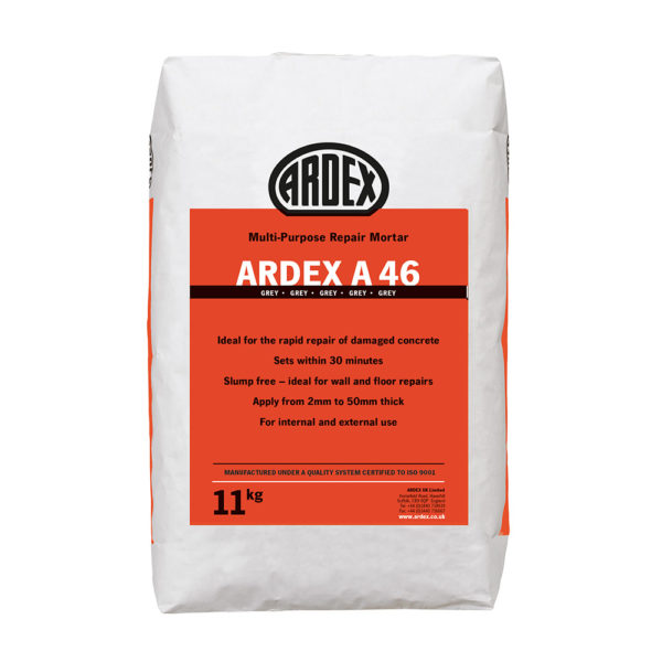 Ardex A46 Rapid Repair Mortar