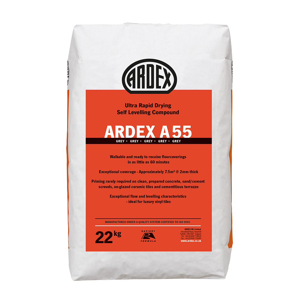 Ardex A 55 Levelling Compound 22kg Tiling Supplies Direct