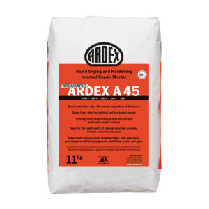 Ardex Ardurapid A 45 Repair Mortar 11kg