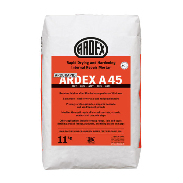Ardex Ardurapid A45 Repair Mortar 11kg