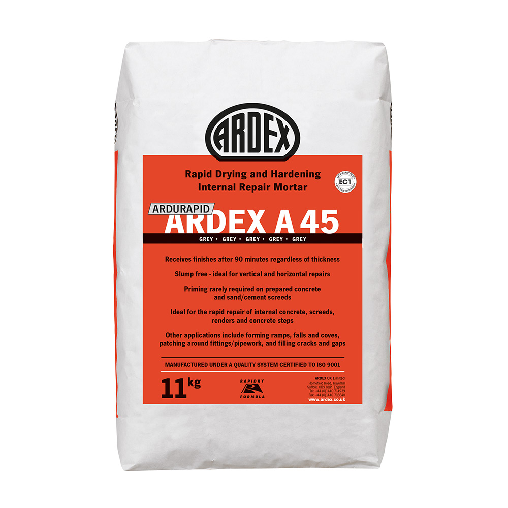 Ardex Ardurapid A 45 Repair Mortar 11kg