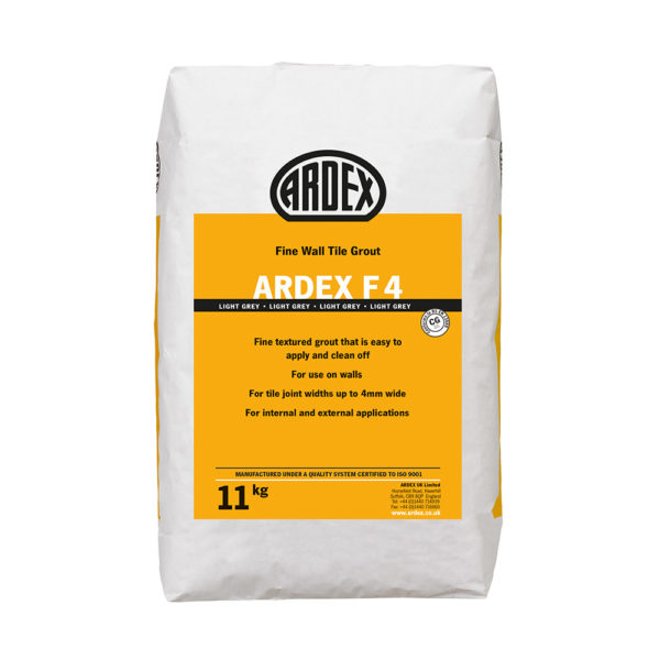 Ardex F4 Fine Wall Tile Grout