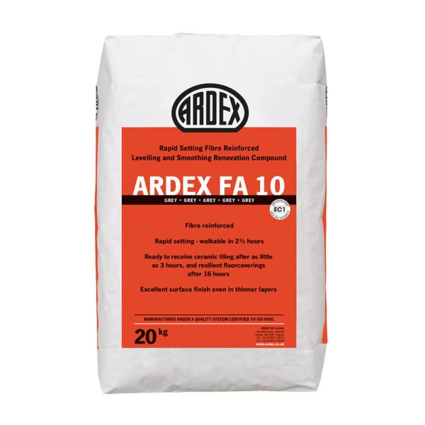 Ardex FA10 Levelling Compound 20kg