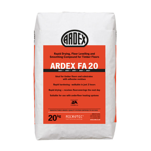 Ardex FA20 Levelling Compound 20kg