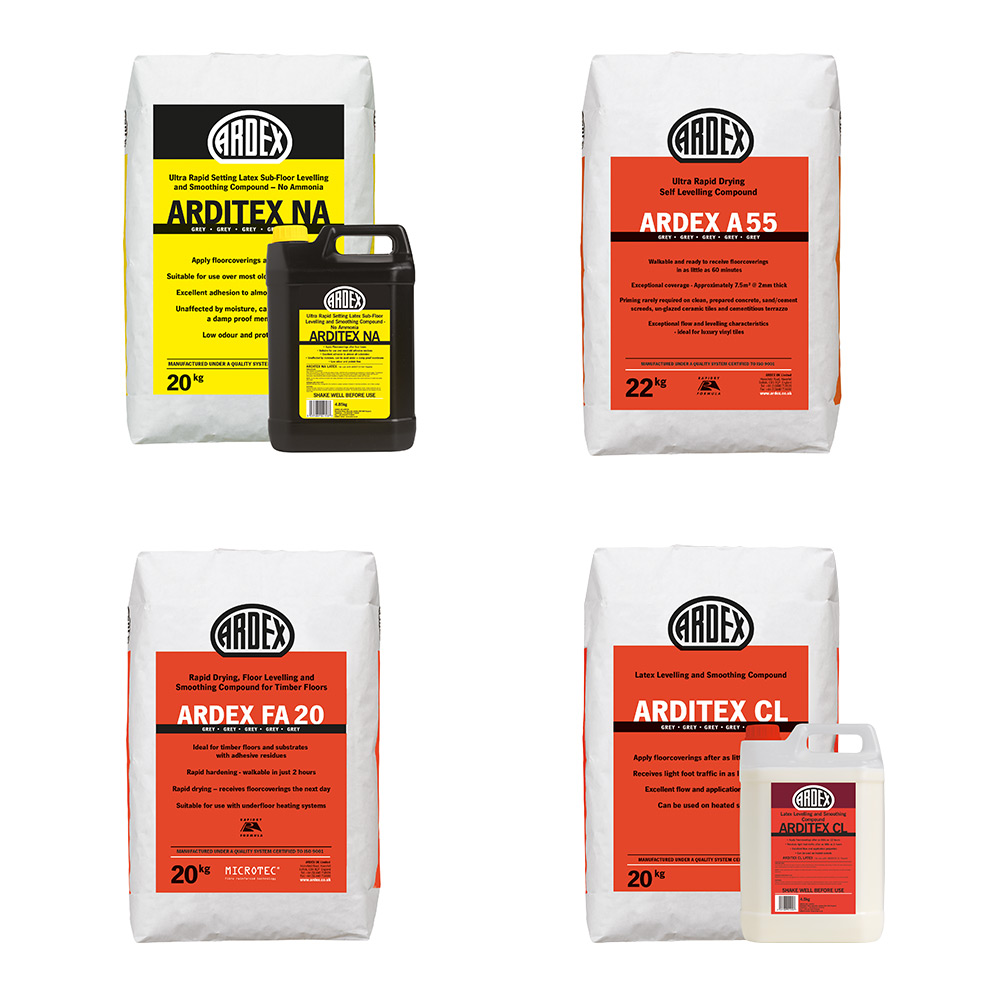 Ardex Levelling & Smoothing Compounds