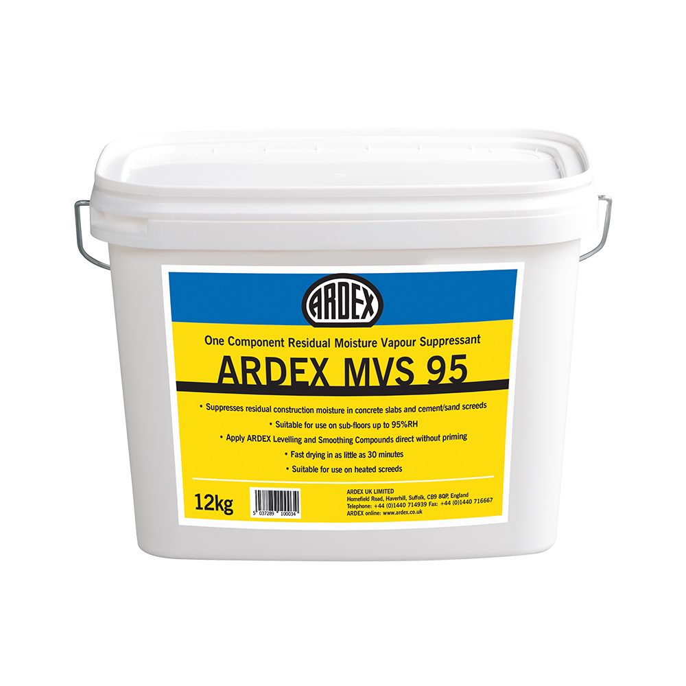 Ardex MVS 95 Moisture Vapour Suppressant 12kg