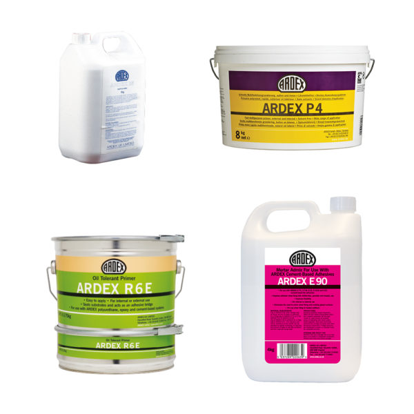 Ardex Primers, Admixes & Ancillaries