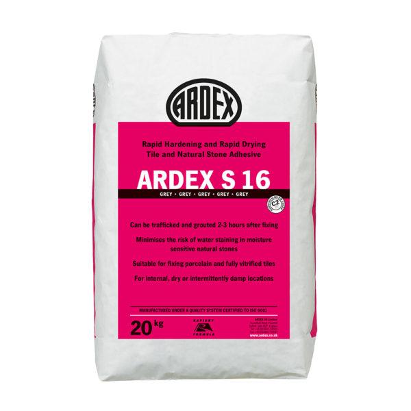 Ardex S16 Tile Adhesive 20kg