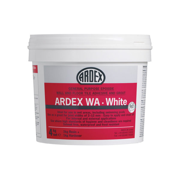 Ardex WA Epoxide Tile Grout And Adhesive