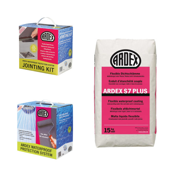Ardex Waterproofing Systems