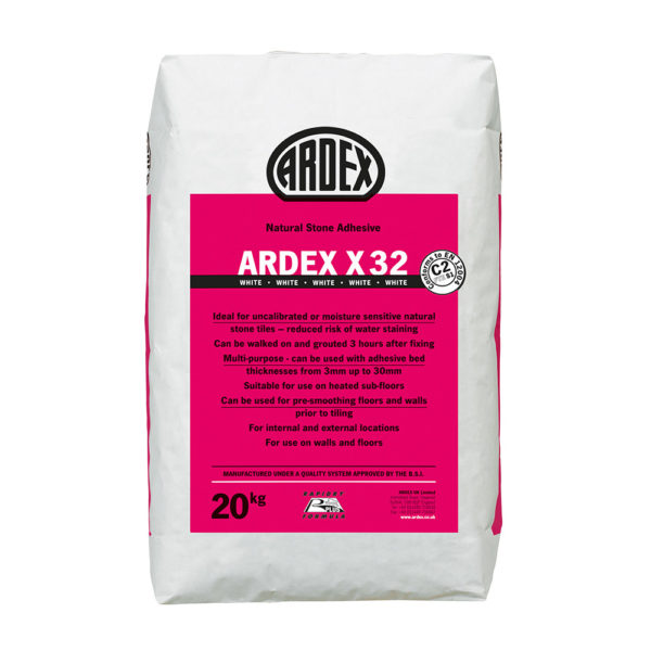 Ardex X32 Natural Stone Adhesive 20kg