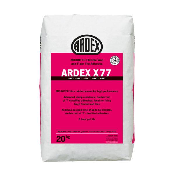 Ardex X77 Tile Adhesive 20kg