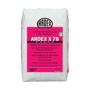 Ardex X78 Tile Adhesive Grey 20kg