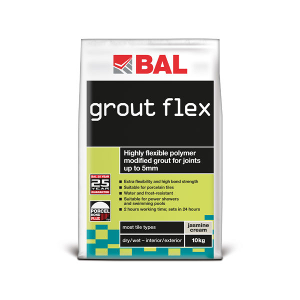 BAL Grout Flex Wall Tile Grout