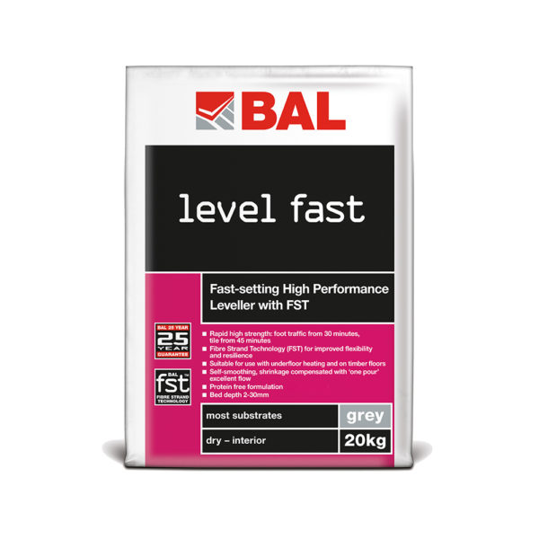 BAL Level Fast Levelling Compound
