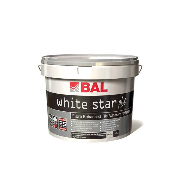 BAL White Star Plus Tile Adhesive