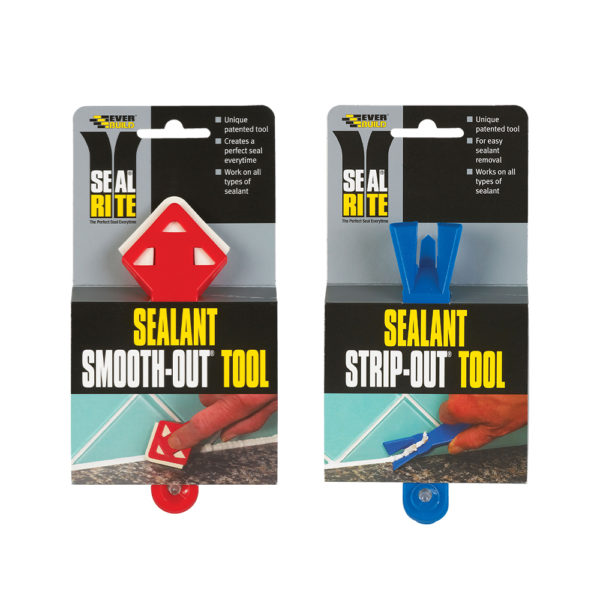 Everbuild Seal Rite Strip Out / Smooth Out Silicone Tools