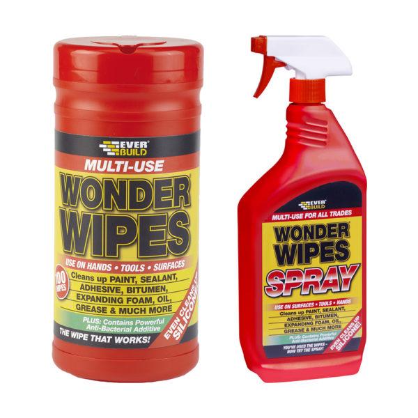 Everbuild Wonder Wipes & Spray
