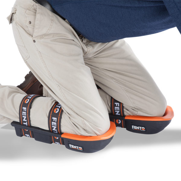 FENTO 400 Pro Knee Pads - In use