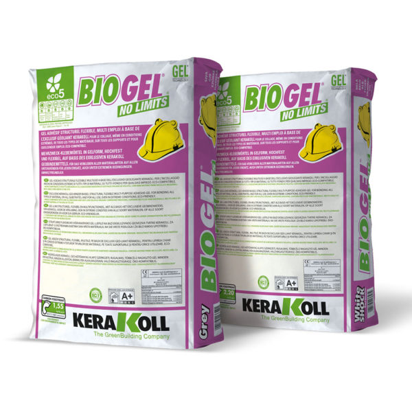 Kerakoll BioGel No Limits Flexible Tile Adhesive