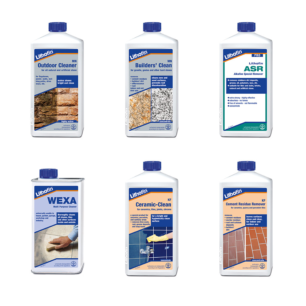 Lithofin Cleaning Products
