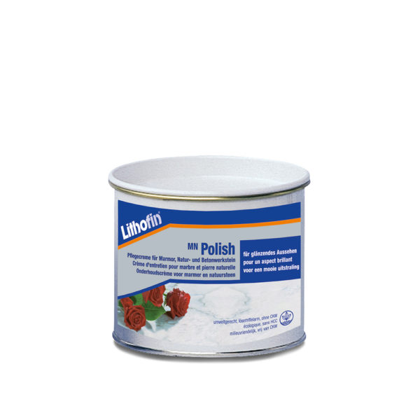 Lithofin MN Polish Cream - 500ml