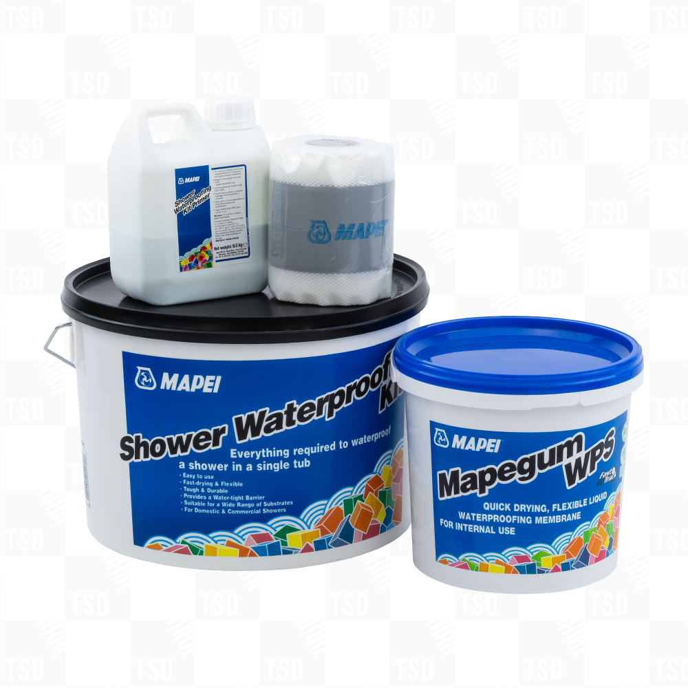 Mapei Shower Waterproofing Kit - Tiling Supplies Direct