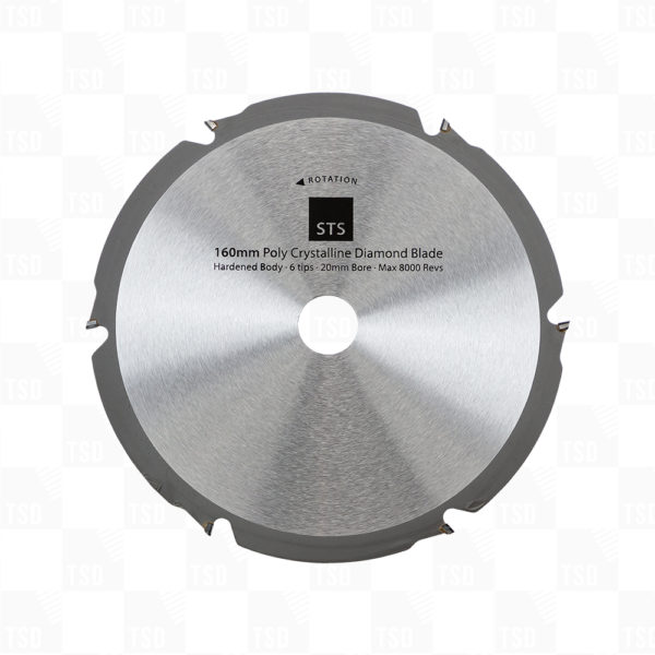 No More Ply PCD Diamond Blade 160mm