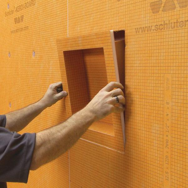 Schluter KERDI BOARD Niche - Installation