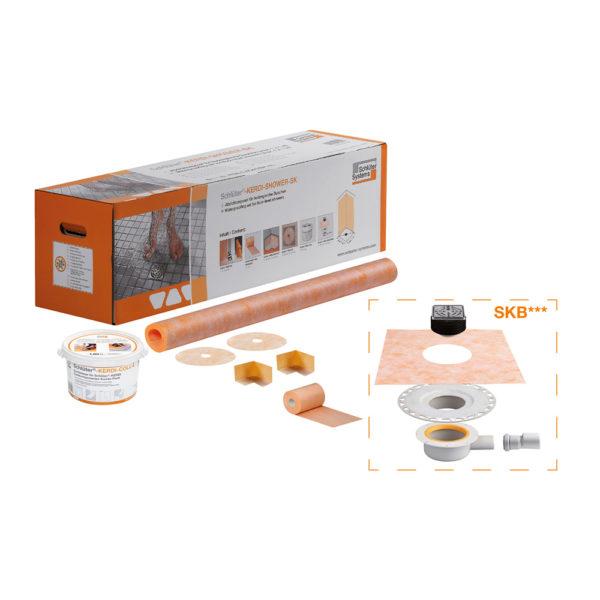 Schluter KERDI SHOWER SKB Waterproofing Set