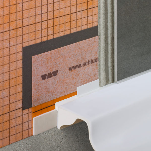 Schluter KERDI TS - Installation Example