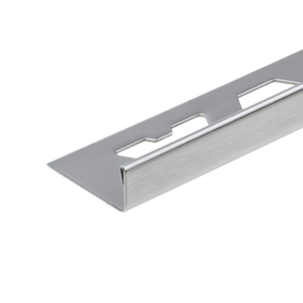 Stainless Steel Brushed Straight Edge Tile Trim