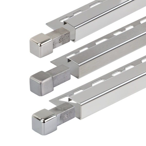 Stainless Steel Square Box Section Tile Trim