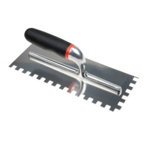 Stainless Steel Square Notched Tiling Trowel
