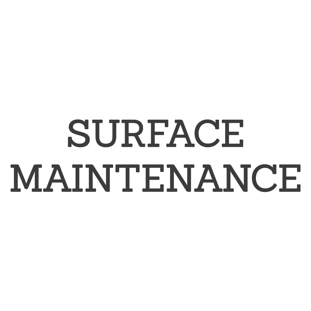 Surface Maintenance Products