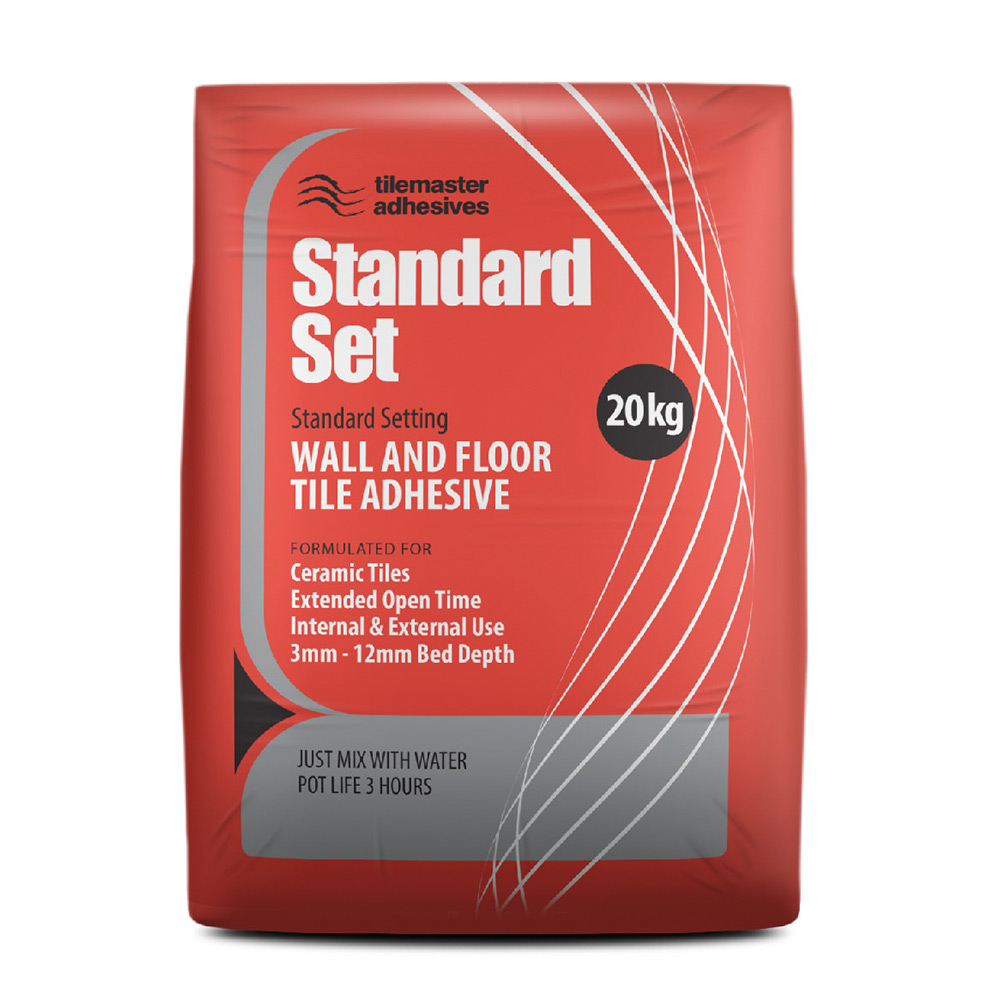 Tilemaster Standard Set Tile Adhesive - Tiling Supplies Direct