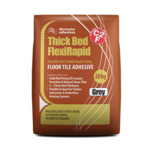Tilemaster Thick Bed FlexiRapid Tile Adhesive