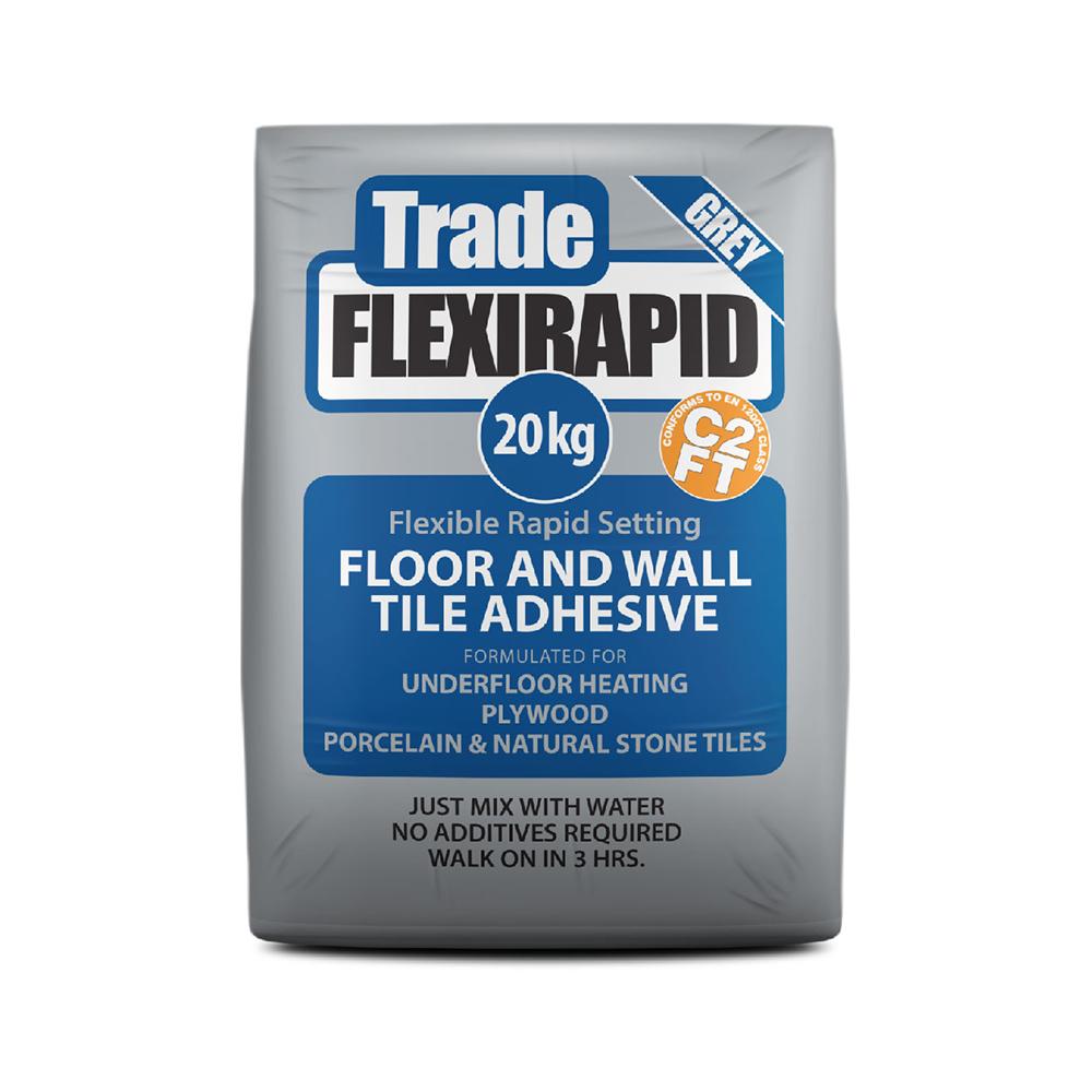 Tilemaster Trade Flexi Rapid Tile Adhesive - Tiling Supplies Direct