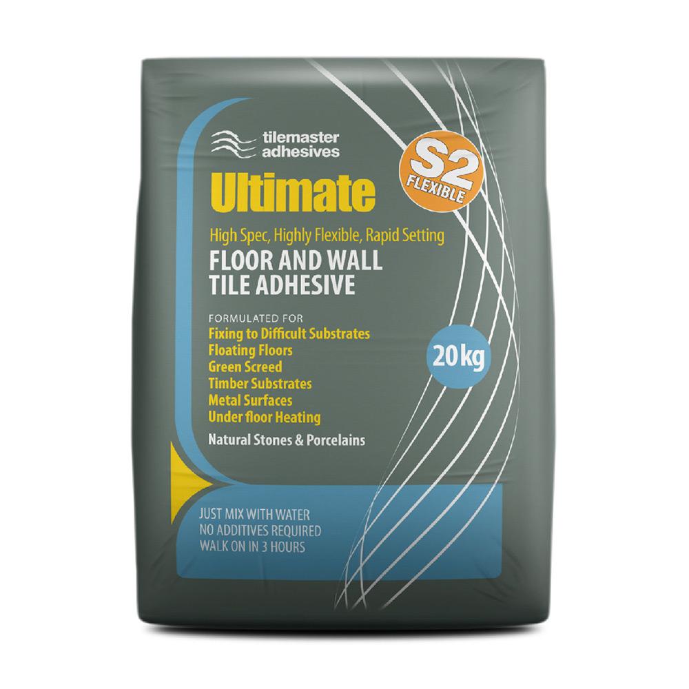 Tilemaster Ultimate Tile Adhesive Tiling Supplies Direct