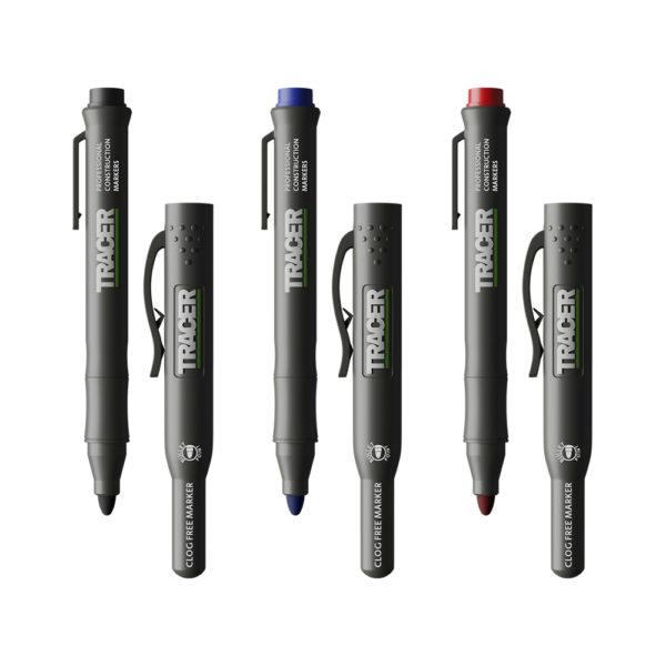 TRACER Clog Free Marker Pens