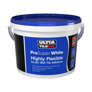 Ultra Tile Fix ProSuper White Wall Tile Adhesive 15kg