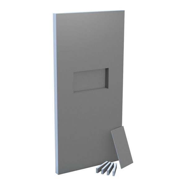 wedi Sanwell Wall Board with integrated niche