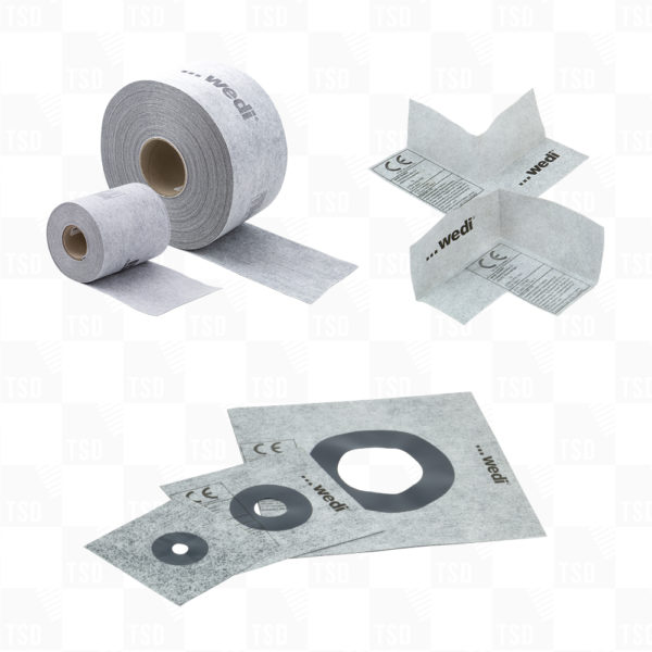 wedi Sealing Tape, Corners & Sealing Gaskets